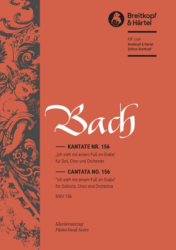 Bach, Johann Sebastian - Ich steh mit einem Fuß im Grabe :