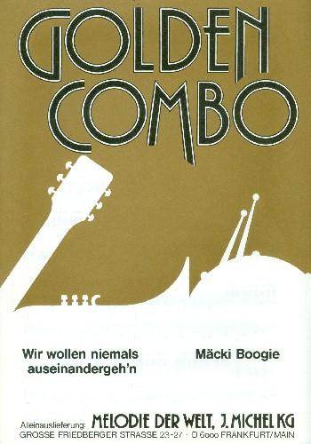 Wir wollen niemals auseinandergehen / Mäcki Boogie: für Salonorchester