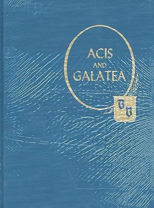 Acis and Galatea: Partitur (reprint)