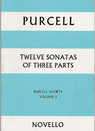 12 Sonatas of 3 parts: for 2 violins, bass and bc, score