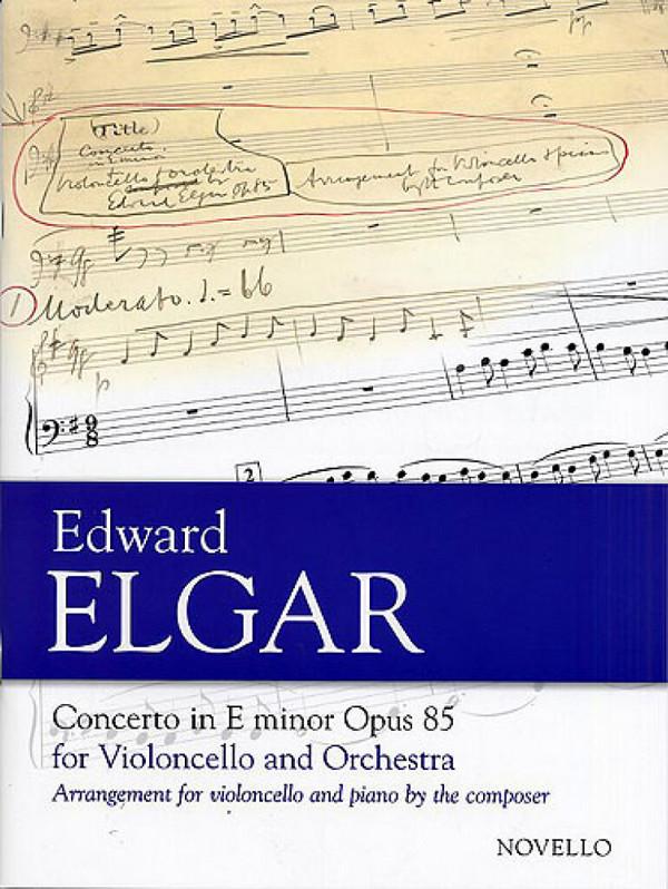 Elgar, Edward - Concerto e minor op.85 for