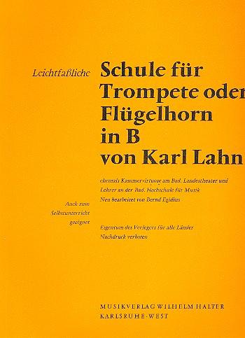 Lahn, Karl - Leichtfassliche Schule :