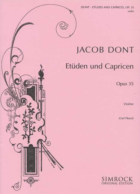 Etüden und Capricen opus.35: für Violine