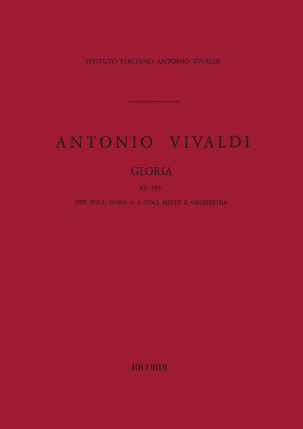 Vivaldi, Antonio - Gloria : für Soli (SSA), gem Chor