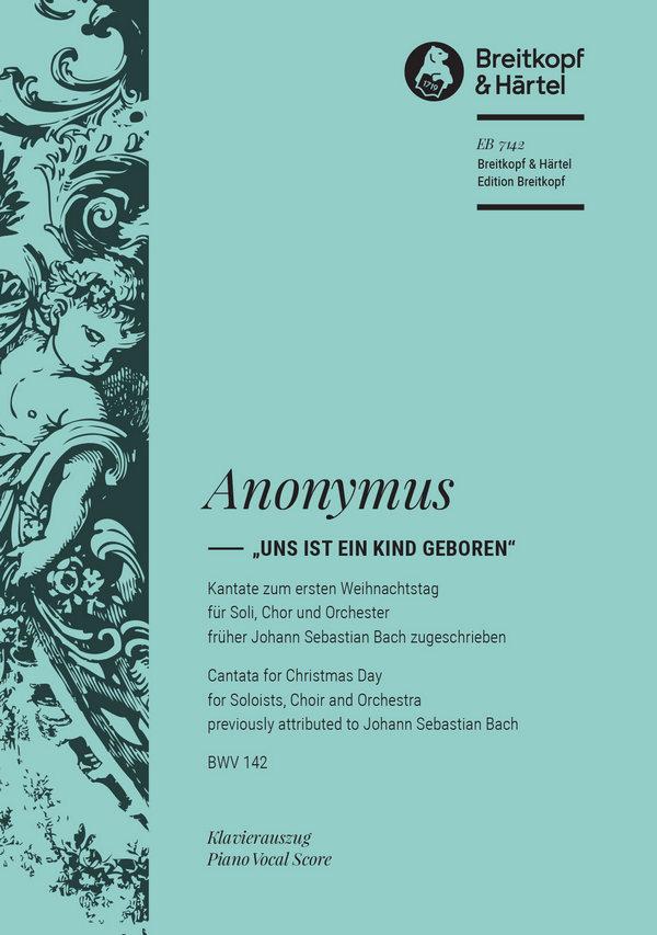 Anonymus - Uns ist ein Kind geboren :
