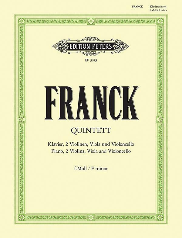 Franck, César - Quintett f-Moll : für Klavier