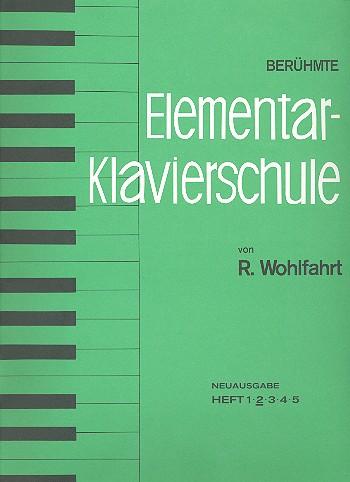 Berühmte Elementar-Klavierschule opus.222 Band 2