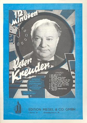 12 Minuten Peter Kreuder: Großes Potpourri für Klavier