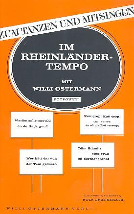 Im Rheinländertempo mit Willi Ostermann: Potpourri für