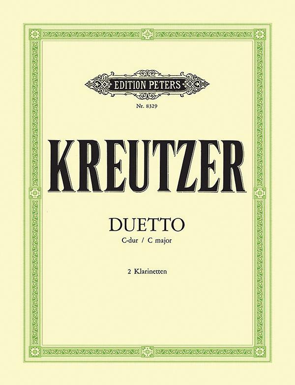 Kreutzer, Conradin - Duett C-Dur : für 2 Klarinetten