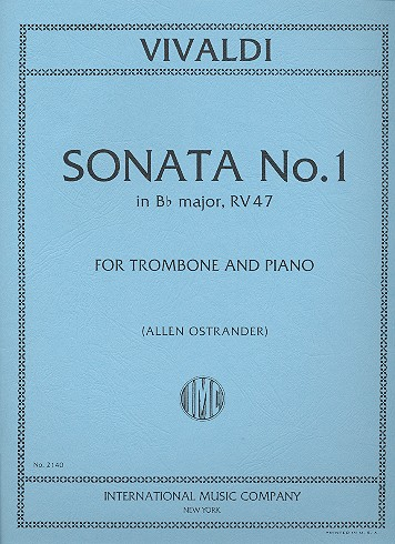 Vivaldi, Antonio - Sonata B flat major no.1 :