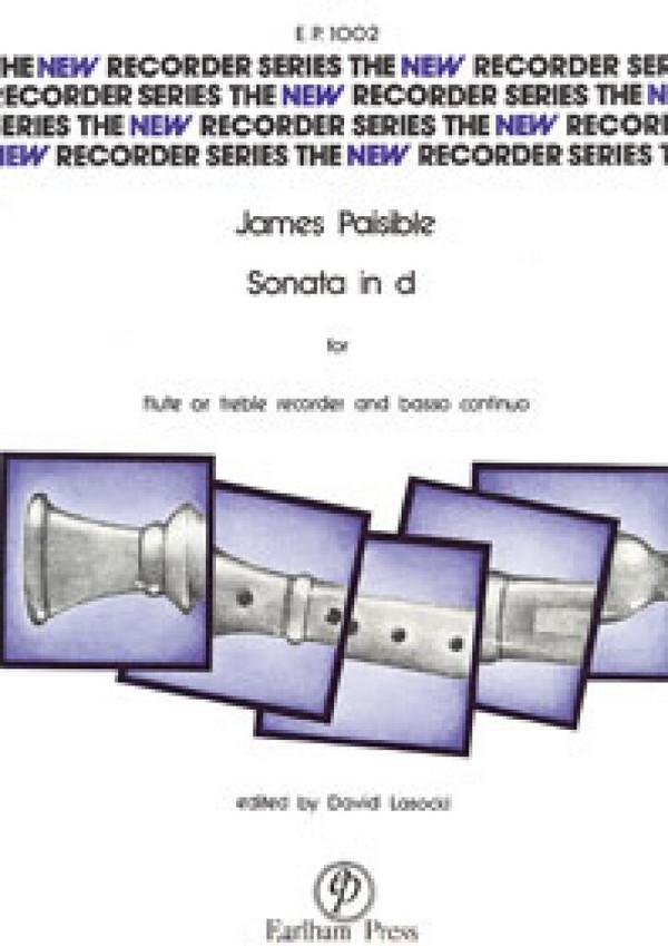 Sonata d minor: for treble recorder and bc