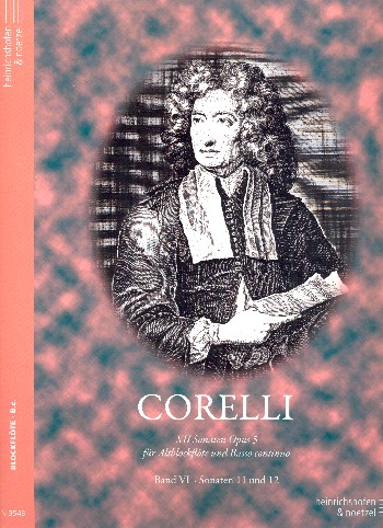 Corelli, Arcangelo - 12 Sonaten op.5 Band 6 (Nr.11-12) :