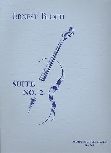Bloch, Ernest - Suite no.2 : for cello solo