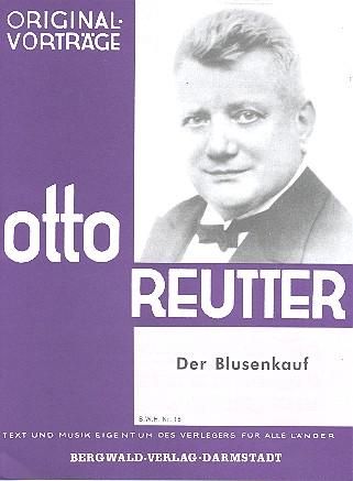 Reutter, Otto - Der Blusenkauf : für Singstimme
