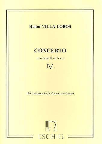 Concerto: pour harpe et orchestre harpe et piano