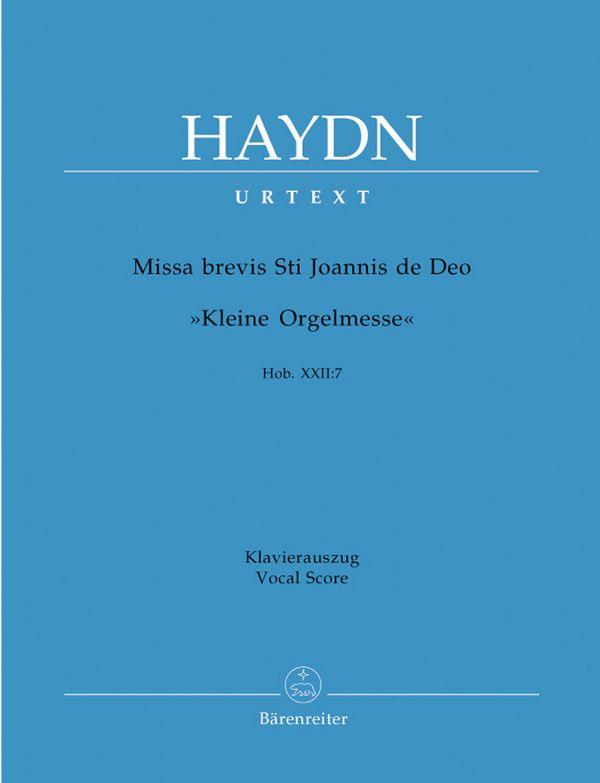 Haydn, Franz Joseph - Missa brevis St. Joannis de deo