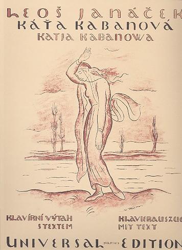 Janácek, Leos - Katja Kabanova : Klavierauszug (dt/ts)