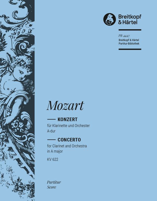 Konzert A-Dur KV622: für Klarinette und Orchester