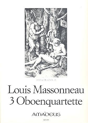3 Quartette: für Oboe und Streichtrio