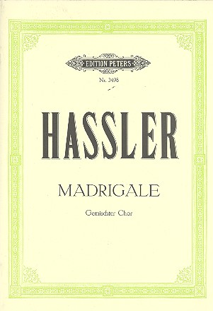 12 Lieder und Madrigale: für gem Chor a cappella