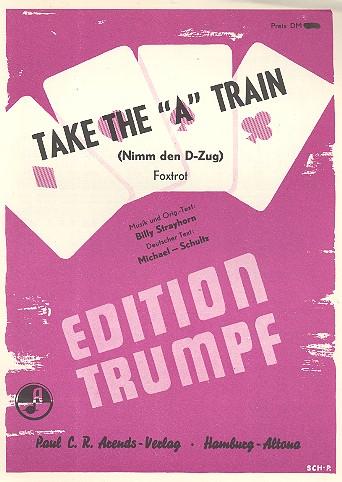 Take the A Train: Einzelausgabe für Klavier
