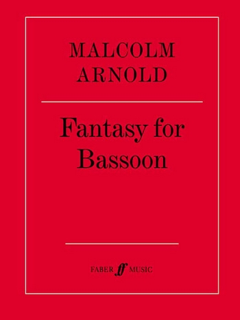 Arnold, Malcolm - Fantasy op.86 : for bassoon