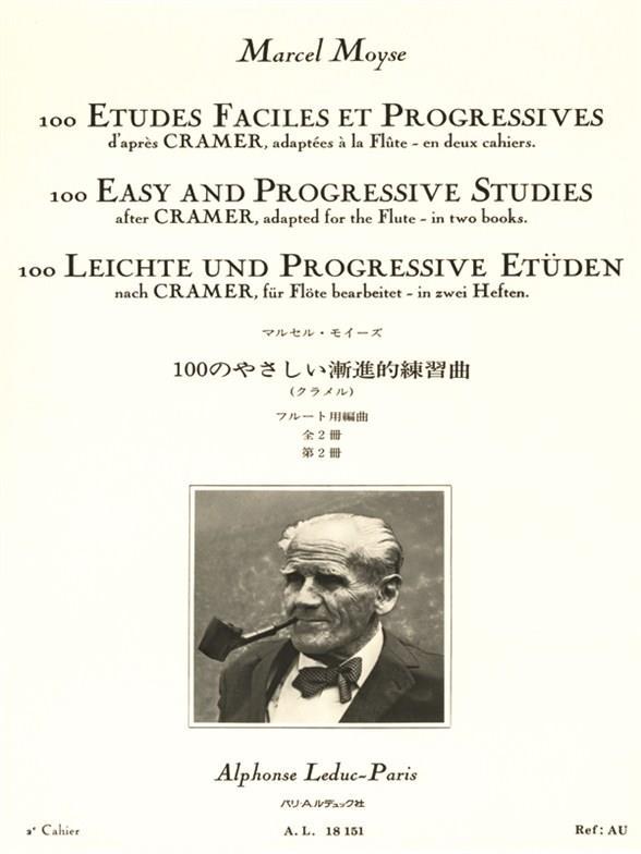 Moyse, Marcel - 100 études faciles et progressives