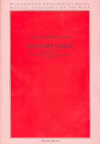 Konzert B-Dur opus.4,6: für Harfe (Cembalo, Klavier, Orgel) und Streicher
