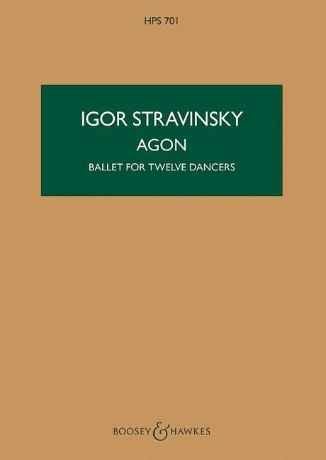 Agon - ballet for 12 Dancers