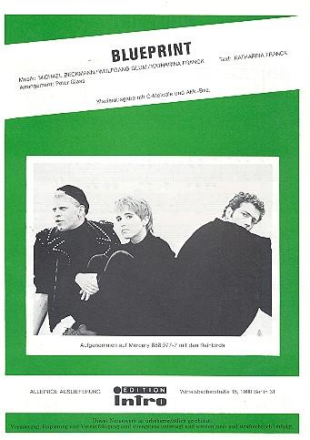 Blueprint: Einzelausgabe Gesang und Klavier (en)