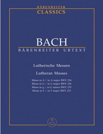 Lutherische Messen BWV234-236 Studienpartitur