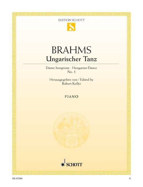 Brahms, Johannes - Ungarischer Tanz Nr.5 :