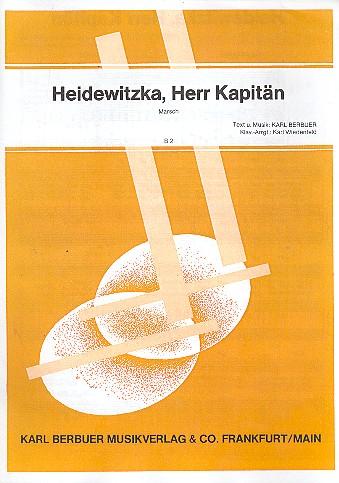 Heidewitzka Herr Kapitän: Einzelausgabe für