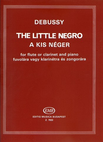 Debussy, Claude - The little negro : für