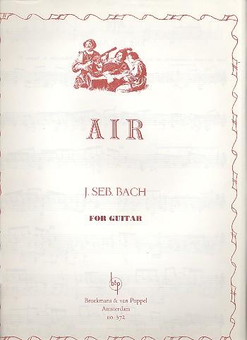 Bach, Johann Sebastian - Air : for guitar