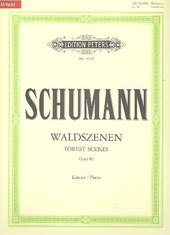 Schumann, Robert - Waldszenen op.82 : für Klavier