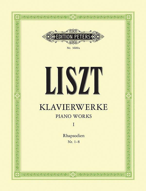 Liszt, Franz - Ungarische Rhapsodien Band 1 (Nr.1-8) :