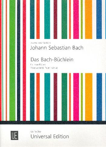 Bach, Johann Sebastian - Das Bach-Büchlein : 14 ausgewählte