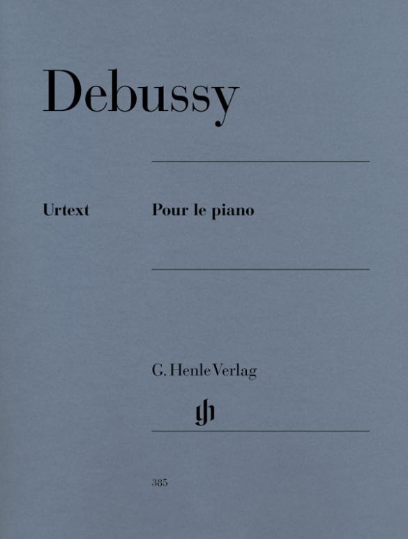 Debussy, Claude - Pour le piano : für Klavier