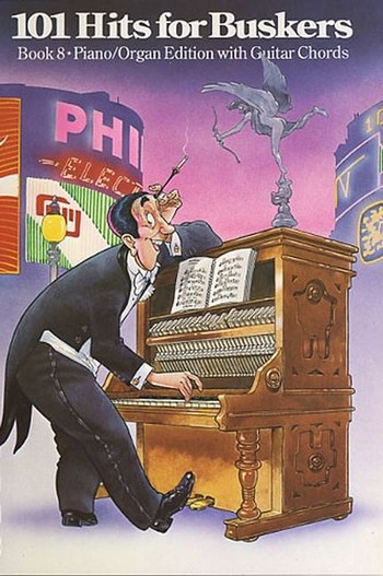 101 Hits for Buskers vol.8: piano / organ edition with guitar chords