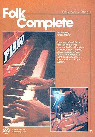 Folk Complete 2: für Klavier