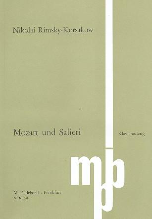 Mozart und Salieri op.48: Klavierauszug (ru/dt/fr)