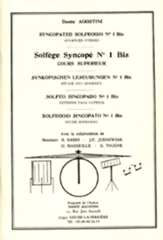 Solfege syncope vol.1Bis: cours superieur