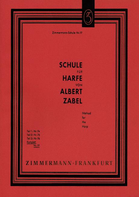 Schule für Harfe (komplett)