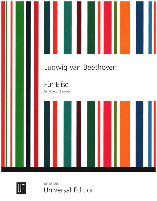 Für Elise: für Flöte und Klavier