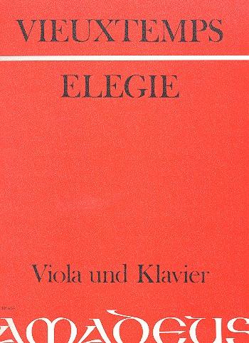 Vieuxtemps, Henri - Elegie op.30 : für Viola