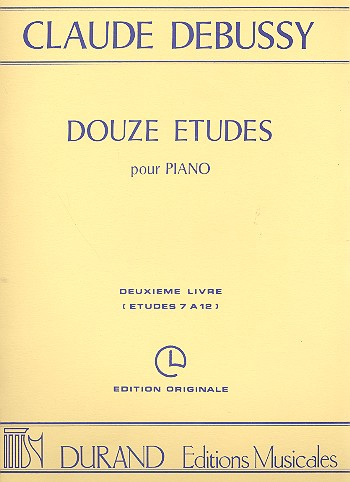 12 Etudes vol.2 (7-12): pour piano