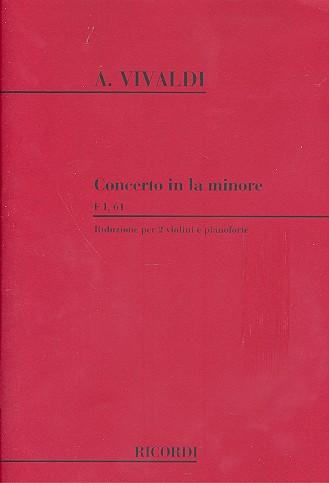 Vivaldi, Antonio - Concerto la minore per 2 violini, archi