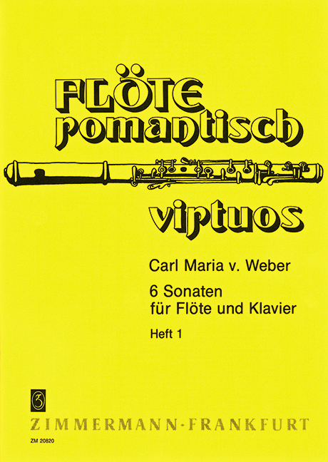 Weber, Carl Maria von - 6 Sonaten Jähns-Verzeichnis 99-104